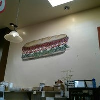Photo taken at The Sandwich Spot by KiDD O. on 2/11/2013