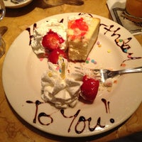 Photo taken at The Cheesecake Factory by Mark M. on 4/22/2013