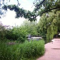 Photo taken at Clapton Pond by ansgar p. on 6/15/2013