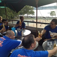 Photo taken at Hudson Beach Cafe by Duane S. on 8/1/2013