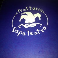 Photo taken at Trattoria Dopo Teatro by Kevin M. on 9/27/2013