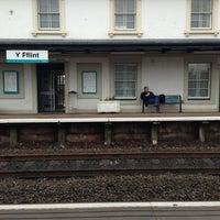 Photo taken at Flint Railway Station (FLN) by Alex B. on 3/15/2013
