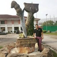 Photo taken at Sekolah Sultan Alam Shah (SAS) by Zack R. on 4/27/2016