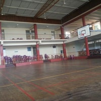 Photo taken at Basketball court Howard campus by Digitz M. on 2/20/2014