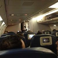 Photo taken at Delta Flight 824 by Brandon R. on 2/17/2013