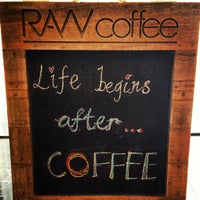 Photo taken at RAW Coffee by sayhuat l. on 10/10/2012