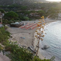 Photo taken at Spiaggia Seccheto by Isabella P. on 8/30/2014