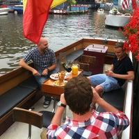 Photo taken at De Bootjes van Gent   Rederij Dewaele by Anneleen B. on 7/23/2013