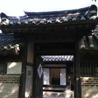 Photo taken at Korean Folk Village by Jammin Y. on 6/4/2013
