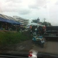 Photo taken at Yaek Krungthep Kritha Market by KA W. on 7/9/2013