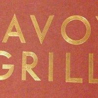 Photo taken at The Savoy Grill by Anne L. on 3/30/2013