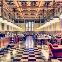 Photo taken at Doheny Memorial Library (DML) by Rebecca R. on 4/25/2013