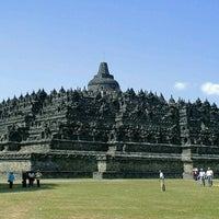 Photo taken at Borobudur Temple by Vincent F. on 3/23/2013