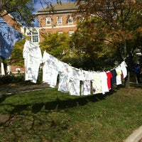 Photo taken at Hornbake Plaza by Sally H. on 10/16/2012