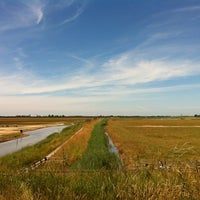 Photo taken at Frampton Marsh nature reserve by Gilbert H. on 7/15/2013