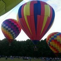 Photo taken at Point Mallard Park by Jenny L. on 5/27/2013