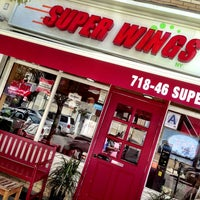 Photo taken at SUPER WINGS NY by Lason L. on 4/25/2013