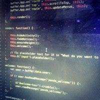 Photo taken at Wix Lounge by Tom M. on 10/29/2012
