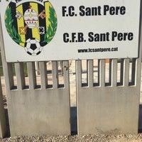 Photo taken at Camp De Futbol De St. Pere Pescador by Vonckx G. on 7/7/2016