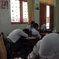 Photo taken at SMA Negeri 6 Bandung by Nanaa M. on 4/1/2014