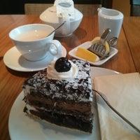 Photo taken at Mövenpick Restaurant by Wim B. on 10/21/2013