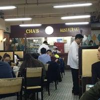Photo taken at Cha's Restaurant by Krystie K. on 5/10/2016