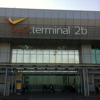 Photo taken at Terminal 2B by Gabcsika on 10/19/2012