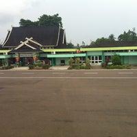 Photo taken at Bandara Sultan Thaha Syaifuddin (DJB) by Ananta P. on 7/2/2013