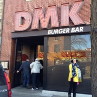 Photo taken at DMK Burger Bar by A on 1/1/2013