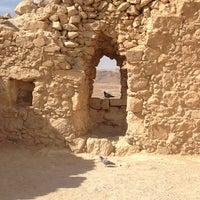 Photo taken at Masada by Aya A. on 2/10/2013