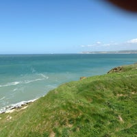 Photo taken at Cap Gris Nez by Philippe C. on 5/9/2013