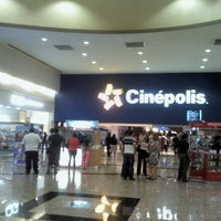 Photo taken at Cinépolis Las Américas by Gabriel P. on 3/30/2013