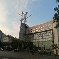 Photo taken at Place d'Italie by Romdhan F. on 7/6/2013