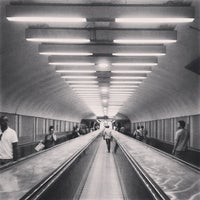 Photo taken at Métro Châtelet [1,4,7,11,14] by Romdhan F. on 7/21/2013