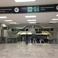 Photo taken at Mexico City International Airport (MEX) by Claudia G. on 10/11/2013