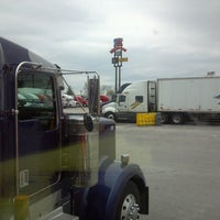 Photo taken at TravelCenters of America by Tamera S. on 4/12/2013