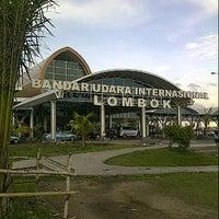 Photo taken at Lombok International Airport (LOP) by Prasodjo H. on 3/28/2013