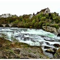Photo taken at Rheinfall by OJUNG on 4/26/2013