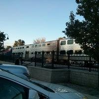 Photo taken at Metra - Glenview by Jamie L. on 9/21/2013