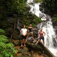 Photo taken at Tree Top Jungle Hut by Kyra C. on 7/22/2014