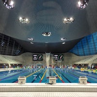 Photo taken at London 2012 Aquatics Centre by Stephen L. on 11/2/2014