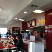 Photo taken at In-N-Out Burger by Sam O. on 3/31/2013
