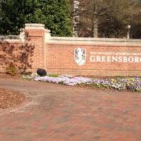 Photo taken at University of North Carolina at Greensboro by Jobina 🍹 N. on 4/10/2013