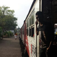 Photo taken at Maharagama Railway Station by ScheRrrzZ on 1/4/2014