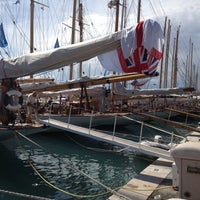 Photo taken at Voiles d'Antibes by Claude E. on 6/2/2013