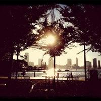 Photo taken at Tribeca Skate Park by Julie W. on 9/19/2013