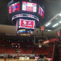 Photo taken at Lloyd Noble Center by ctaylorou on 12/29/2012