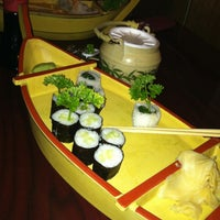 Photo taken at Fuji Sushi by Laura A. on 3/27/2013