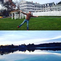 Photo taken at Nonantum Resort by Greg B. on 11/9/2015