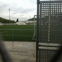 Photo taken at Camp De Futbol Vilomara by TAXI650 BAGES 6. on 10/26/2012